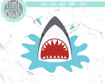 Shark Head SVG, Cut, Printable, Image, Photo