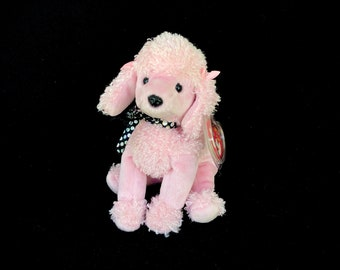 TY Brigitte the Pink Poodle (2000) Beanie Baby