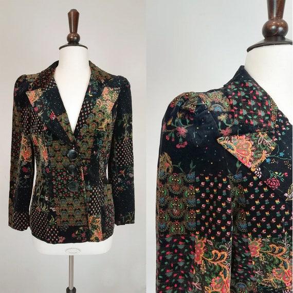 Velvet '70s Jacket / Velvet Jacket '70s