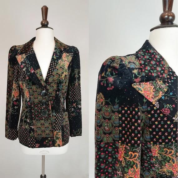 Velveteen jacket from the seventies