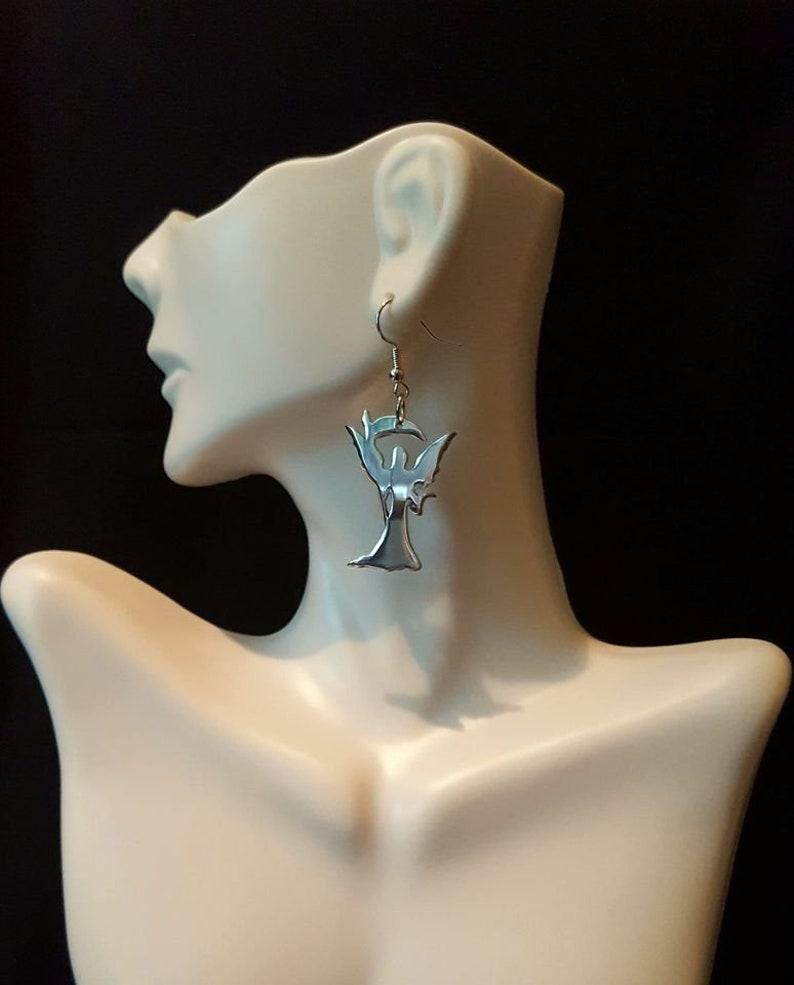 Summons recycled aluminum jewelry set