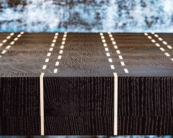 Large End grain cutting board, End grain Butcher block, End grain chopping board
