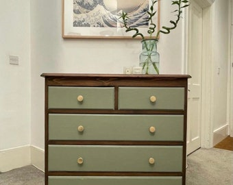 SOLD: Custom Chest of Drawers and Bedside tables. Made to order.