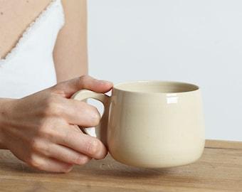 Mug No. 007 - beige cup