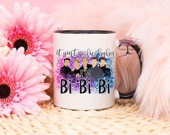 Ain't No Lie I'm Bi| Pride Mug| LGBTQ Mug| Pride Gift| Rainbow Mug| Funny Mug