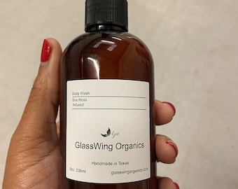 Sea Moss Infused Face & Body Wash