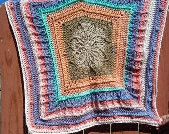 Handmade Heirloom Baby Blanket Crib Blanket Stroller Blanket Baby Afghan