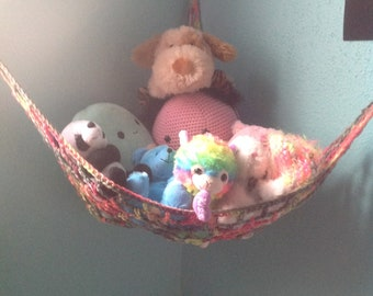 Handmade Crochet Hammock for Toy Stuffie Amigurumi Stuffed Animal