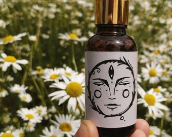 feminessence, Menstrual pain and cramp oil with essential oils, lunar oil