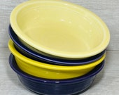 Homer Laughlin Company Fiesta Ware Soup Cereal Bowls, USA, Country Farmhouse Style