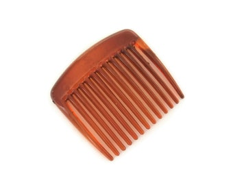 Black and Brown 12 Large Plastic Hair Combs for Crafts /& Millinery in Clear