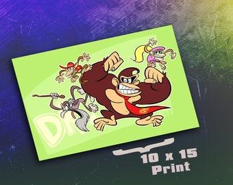 10 x 15 Print - The DK Gang