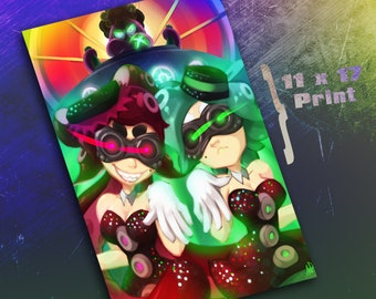 11 x 17 Print - Reign of the Octo