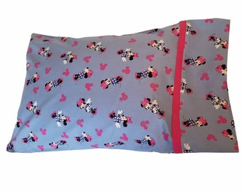 NEW Personalized Disney Minnie Mouse Pillowcase Standard Kids Toddler Girls