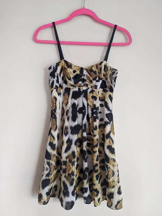 Betsey Johnson Leopard Dress
