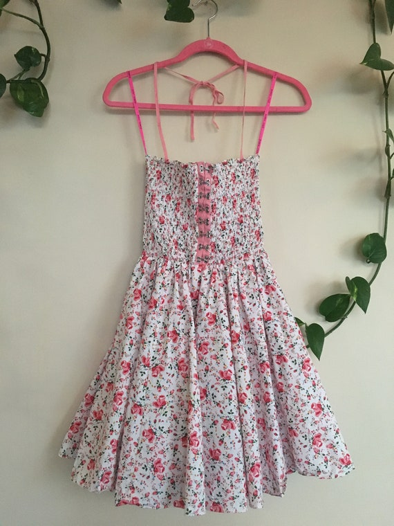 Betsey Johnson Rosebudded Dress