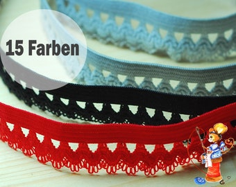 Laundry rubber, rubber band, washer strands 15 colors red black white grey elastic ornamental rubber strands for underwear tops DIY sewing