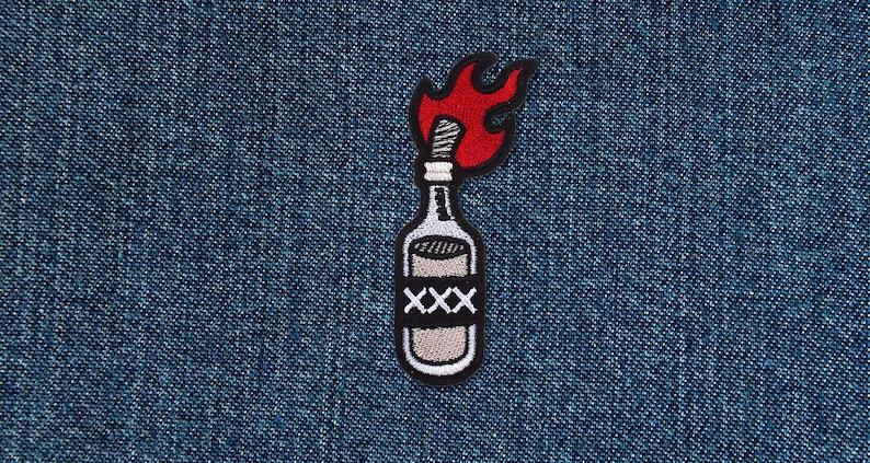 Molotov Cocktail XXX Patch