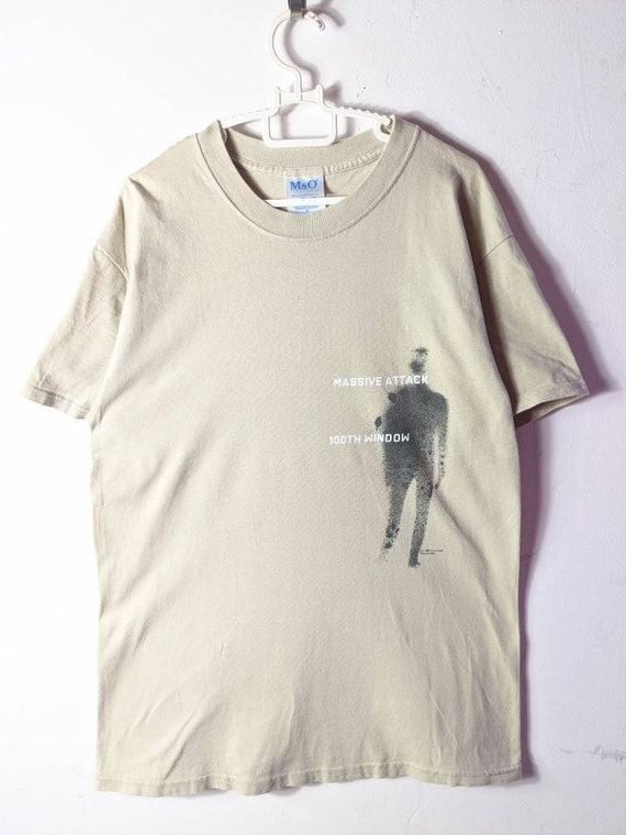 Massive Attack 100th Window Official T Shirt