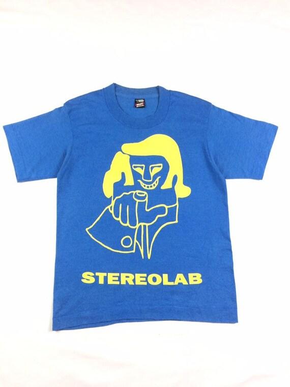 Vintage Stereolab Band Tee