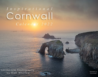 Inspirational Cornwall 2022 Calendar