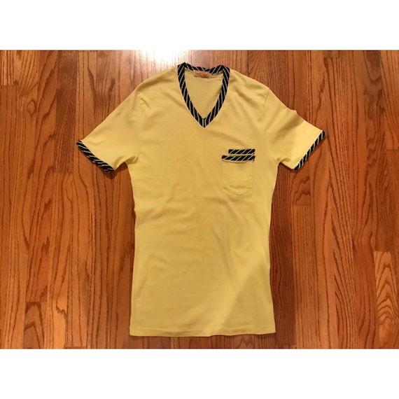 Vintage Jantzen 1940's Double Pocket Tshirt