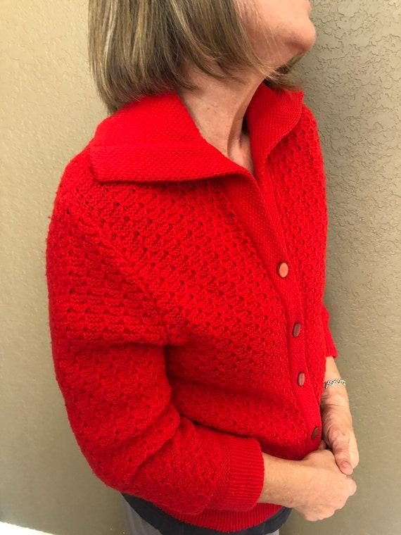 1950s Vintage // Bobbi Brooks // Cherry Red // 100