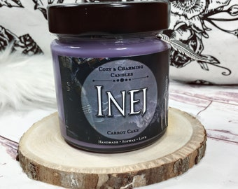 Inej   Crow Candle    Bookcandle   Bookish Candle   Buchkerze