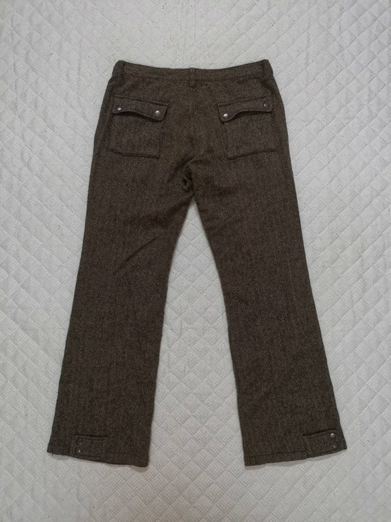 Vintage 90s RIL COMMUNE Stright cut trousers casu… - image 2
