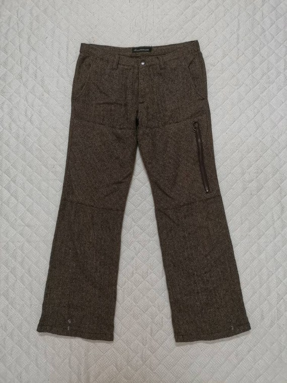 Vintage 90s RIL COMMUNE Stright cut trousers casu… - image 1