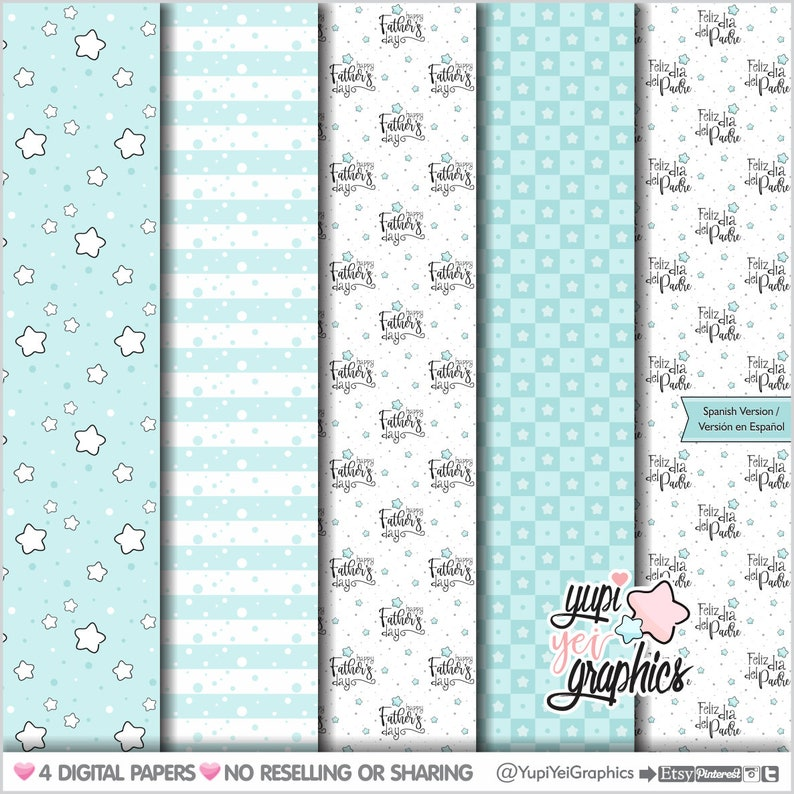Father Digital Papers Fathers Day Digital Papers COMMERCIAL USE Fathers Day Pattern Men Digital Papers Boy Father/'s Day Pattern