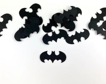 Halloween or Batman Inspired Paper Bat Confetti