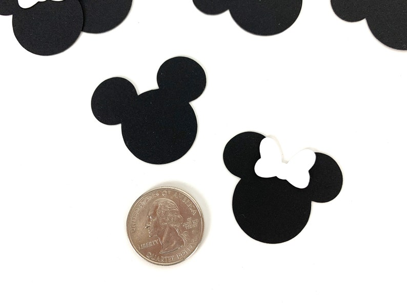 Mickey and Minnie Mickey Mouse Wedding Mickey Mouse Wedding decor Mickey Mouse confetti Disney confetti Minnie Mouse confetti