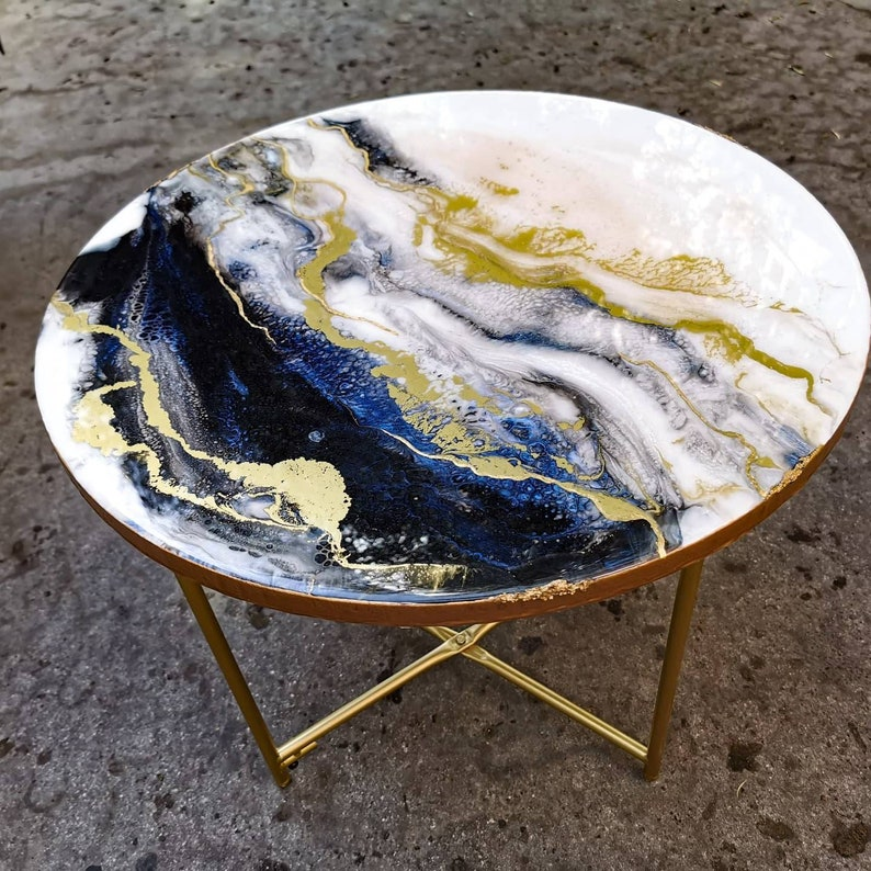 Galaxy Resin coffee Table for House Decor and Interior