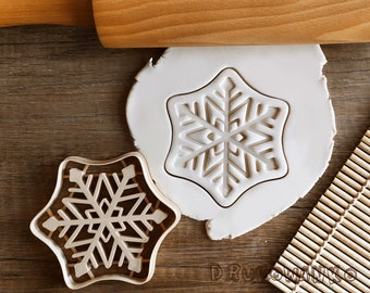 Snowflake Snow Winter Christmas Holy Star Cookie Cutter Pastry Fondant Dough Biscuit