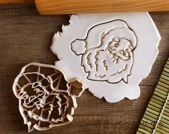 Santa Santas Head Christmas Cookie Cutter Pastry Fondant Dough Biscuit