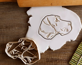 Great Dane Dog Pet Animal Home Friend Cookie Cutter Pastry Fondant Dough Biscuit