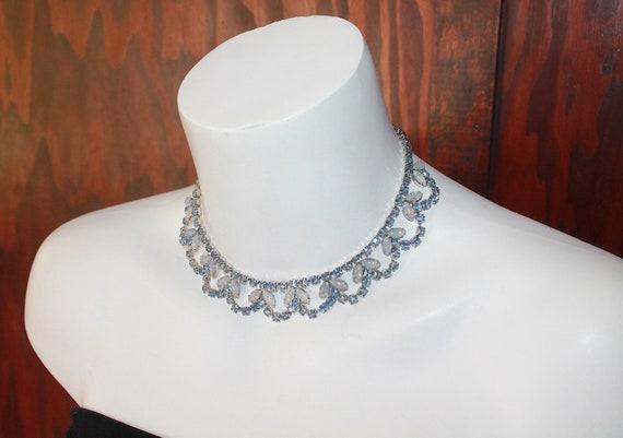 1940's Fred A. Block - Necklace. Swarovski Crystal