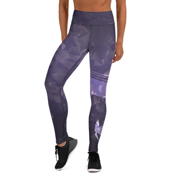 Valkyrie Fractal Leggings - Dark