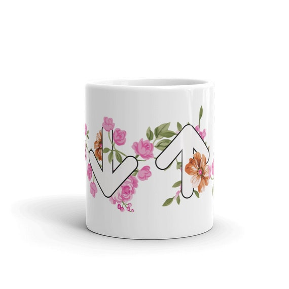 Floral Arrows Mug