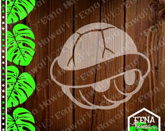 Shell Sticker | Mario | Mario Kart | Mario Kart Shell | Car Window Sticker | Flask Sticker | Car Decal | Phone Decal