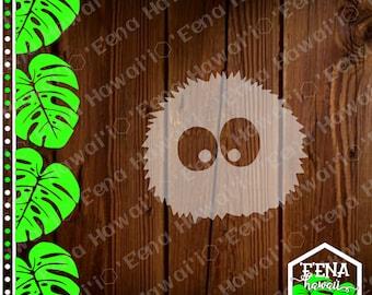 Soot Sprite Decal | Soot Sprite | My Neighbor | Studio Ghibli | Car Window Sticker | Flask Sticker | Car Decal | Phone Decal