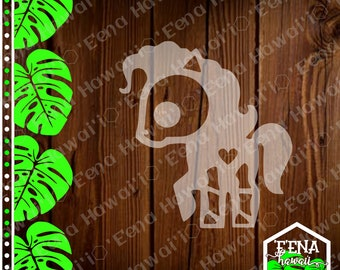 Skeleton Animal Sticker | Skeleton Animal | Skeleton Horse | Car Window Sticker | Flask Sticker | Car Decal | Phone Decal