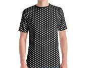 Merkabah Pattern (Gray20) - Sacred Geometry Shirt for Men