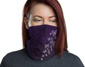 Transform (Violet) - Washable Cloth Face Covering / Neck Gaiter / Face Mask for Men & Women