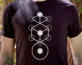Tree of Keys - Sacred Geometry Tree of Life Shirt for Men