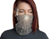 Starlight Radiance - Washable Cloth Face Covering / Neck Gaiter / Face Mask for Men & Women