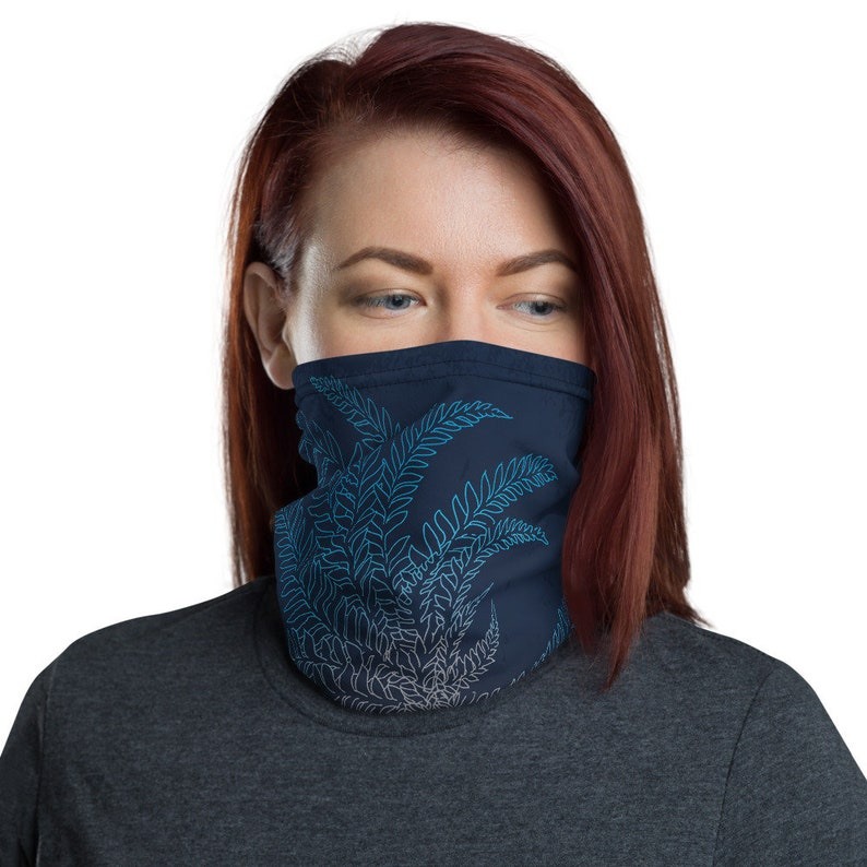 Breathe Midnight  Washable Cloth Face Covering / Neck image 0