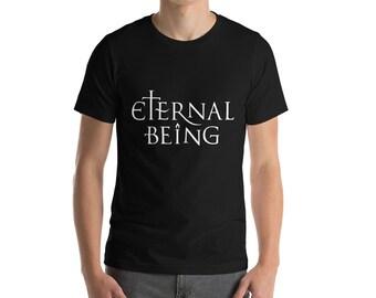 Eternal Being (light) - Esoteric Spiritual Shirt for Men