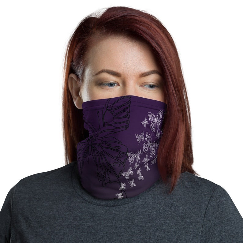 Transform Violet  Washable Cloth Face Covering / Neck image 0